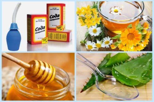 Молочница у женщин лечение народными средствами медом