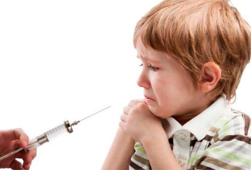 боль после прививки