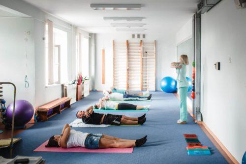 Лечебная физкультура в санатории