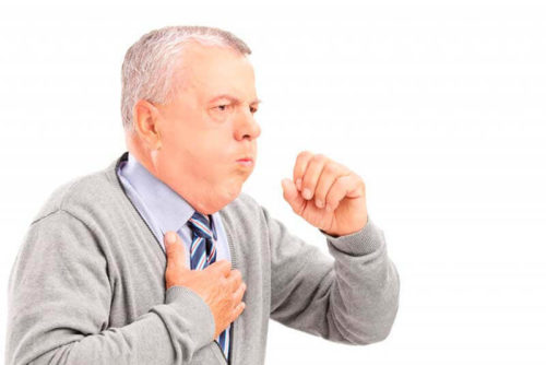 Сухой кашель - один из последствий прививки