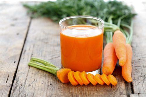 морковный сок токсины