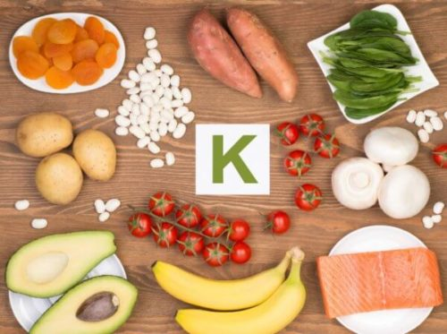 Содержание калия в продуктах питания