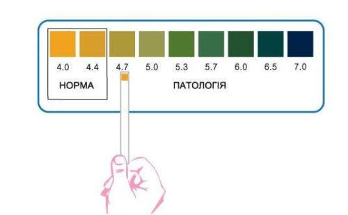 значение pH влагалища