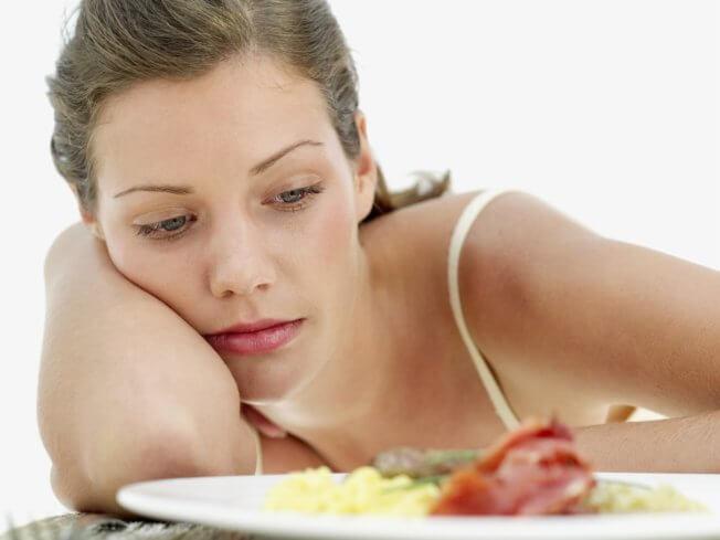 Отсутствие аппетита как признак алкоголизма