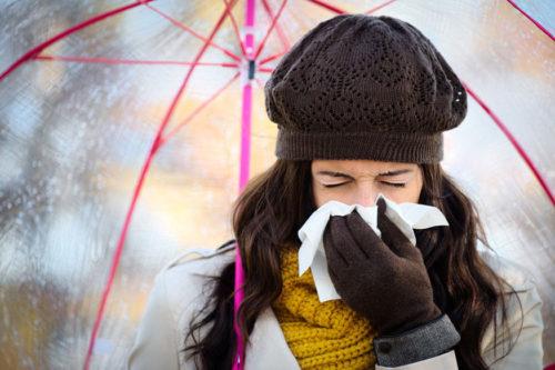 простуда из-за мороза, орви на холоде, простуда при холоде